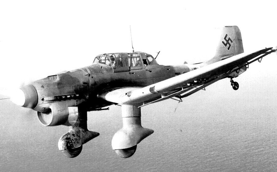 The finest dive bomber in the world 1941